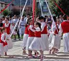 El chupinazo abre cuatro días de fiesta en Ayegui