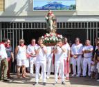La tradición se impone en Ayegui en el día del patrón