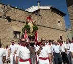 Pitillas sale a la calle para venerar a San Ramón Nonato