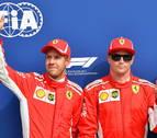 Raikkonen saldrá primero en Monza; Sainz, octavo