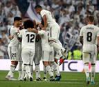 El Real Madrid golea al Leganés