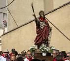 Caparroso honra a Santa Fe en su día grande