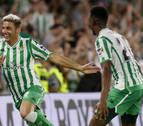 El Betis se lleva un derbi intenso con un gol de Joaquín