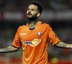 Osasuna le da al exrojillo Diego Martínez su primera victoria en Granada