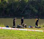 Fallece un hombre mientras nadaba en el río Ebro en Azagra