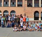 Más de 800 escolares adelantan el inicio del curso en Tierra Estella