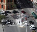 Guerra de cifras entre el comercio y el Ayuntamiento de Pamplona por la amabilización