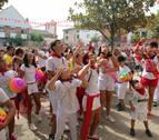 Un cohete con reconocimiento deportivo en las fiestas de Fontellas