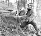 Un encuentro con un lobo marcó la trayectoria de Félix Rodríguez de la Fuente