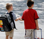 Los padres navarros gastarán una media de 330 euros por niño en la vuelta al cole