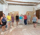 El grupo de voluntarios retoma la reforma del castillo de Cortes