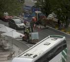 Estos son los cortes de tráfico previstos para este martes en Pamplona