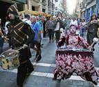 Los comercios del Casco Antiguo salen a la calle por el Privilegio de la Unión