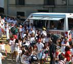 Una mecha en nombre de la  tolerancia, igualdad y respeto en Cárcar