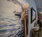 Una exposición colectiva sobre el mar, el sol y la playa en la galería Michel Menéndez
