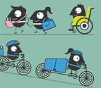 Pamplona dedica la semana de la movilidad a los talleres, rutas en bici y marchas