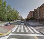 Atropellada una peatón de 22 años en la calle Abejeras de Pamplona