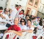 Peñas de todas las edades se suman en Cintruénigo a la fiesta
