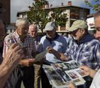 Pastores 'americanos' en Lekunberri