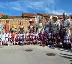 Visitantes de 'altura' en las fiestas de Fitero