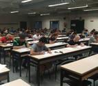 344 aspirantes se presentan a la oposición de bombero para 17 plazas en Navarra