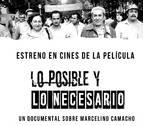'Lo posible y lo necesario', un film sobre Marcelino Camacho, este jueves en Pamplona