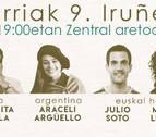 Improvisadoras de Cuba y Argentina junto a bertsolaris el 9 de octubre en Zentral