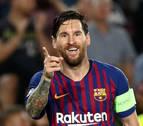 Tebas plantea un premio Leo Messi al mejor jugador de la temporada