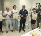 Los comerciantes de Estella sortean desde este jueves 1.100 botellas de aceite de Mendía