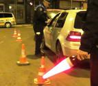 Detenido por dar positivo y conducir en dirección prohibida en Tudela