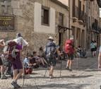Septiembre se corona junto a mayo como la temporada alta del Camino