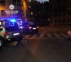 Herida una mujer tras ser atropellada en la calle Leyre de Pamplona
