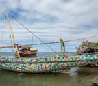 Kenia, cuna del primer barco del mundo fabricado 100% con desechos plásticos