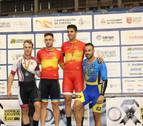 Tres podios navarros en el Nacional de pista