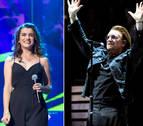 Amaia Romero canta con U2 por una causa feminista