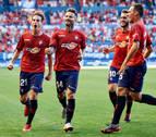 Un libre directo de Rubén García da la victoria a Osasuna