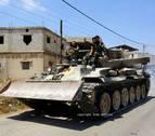Un día en el frente con soldados que combaten en la frontera entre Siria y el Líbano