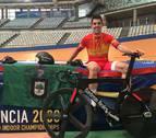 Juan Peralta acaba los campeonatos de España con doblete