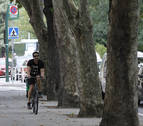 Las bicicletas por la calzada y Pamplona a 30 km/h, en 'stand by'