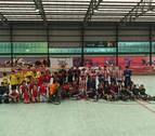 Emoción y buen nivel en el II Torneo Lagunak de hockey sobre patines