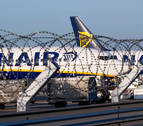 Normalidad en la 4ª jornada de huelga de tripulantes de cabina de Ryanair