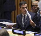 El Gobierno comunica que Sánchez no comparecerá en el Senado sobre su tesis el día 23