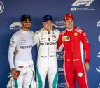 Bottas arrebata la 'pole' a Hamilton en Rusia