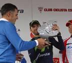 Valverde disfruta de la bici, y se nota