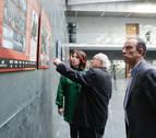 Azagra acoge la exposición itinerante 'Imágenes para un Parlamento'