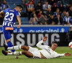El Alavés vence al Real Madrid en el último suspiro