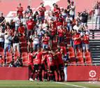 El Mallorca se reencuentra con el triunfo un mes después