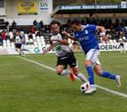 El Tudelano no se muestra inferior al Oviedo, pero cae goleado