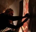 La calcomanía medieval de Artaiz: reconstruyen las pinturas murales de la iglesia
