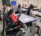 Navarra integra en sus aulas a cien universitarios con discapacidad